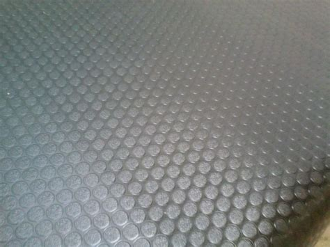 Coin Rubber Flooring by Rubber Cal Coin Grip Flooring And Rolling Mat Black