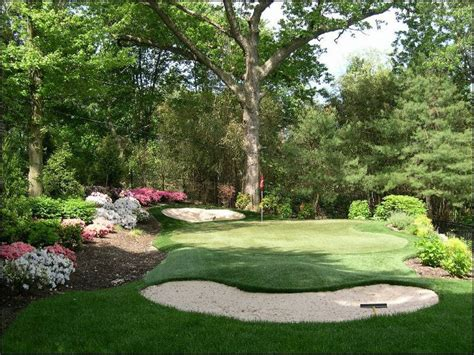 best 25 outdoor putting green ideas on