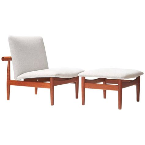 japanese ottoman finn juhl model 137 japan chair and ottoman circa 1953