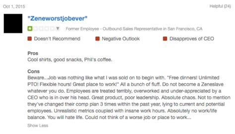 hilarious glassdoor reviews  silicon valley