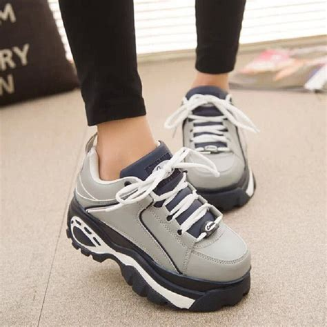 Heels Fashion Kore Import sale creepers shoes 2015 korean style breathable harajuku platform shoes car shoes x519