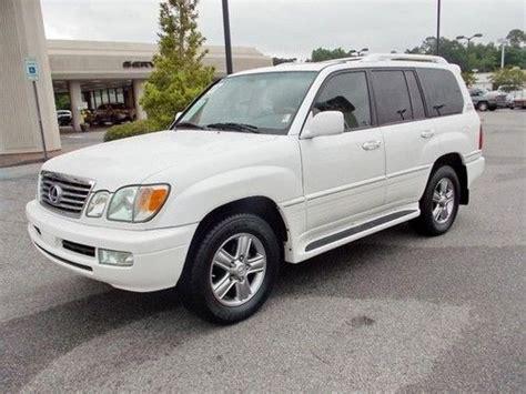 2007 lexus lx470 for sale by owner purchase used 2007 lexus lx 470 in mobile alabama united