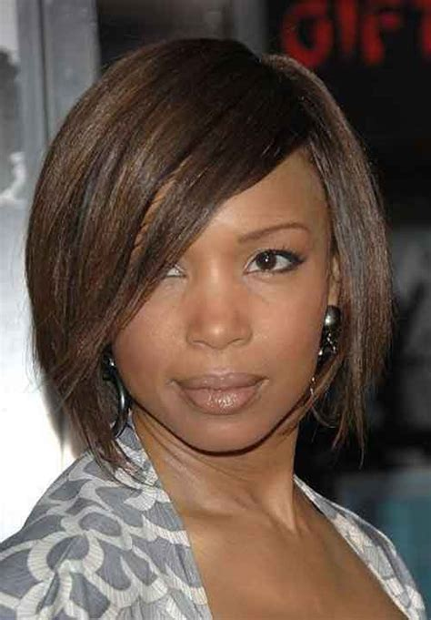 bob hairstyles for black women with round face shape 25 short haircuts for black women hairstyle for black women