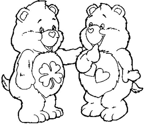 free coloring pages of rainbow teddy bear