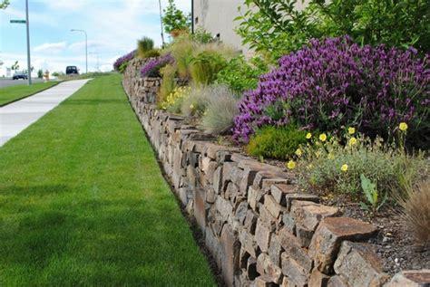 garden block wall ideas 35 retaining wall blocks design ideas how to choose the