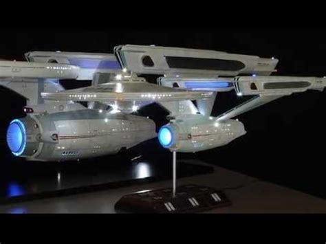 starship enterprise model with lights amazing 1 350 scale uss enterprise refit model with