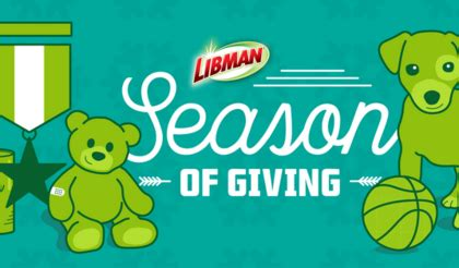 Sweepstakes Company - libman company season of giving sweepstakes sun sweeps