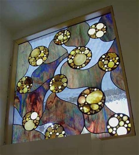 stained glass bathroom window designs abstract stained glass windows