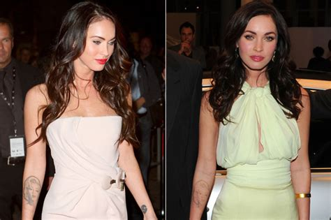 megan fox tattoo removal before and after megan fox begins removal of marilyn