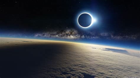 Landscape Photography During Solar Eclipse Landscape Clouds Solar Eclipse Planet Space Eclipse