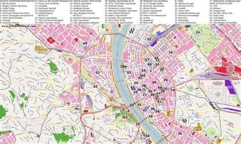 printable map budapest city maps budapest