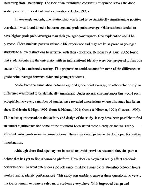 writing a discussion section of a research paper y psychology research poster session y