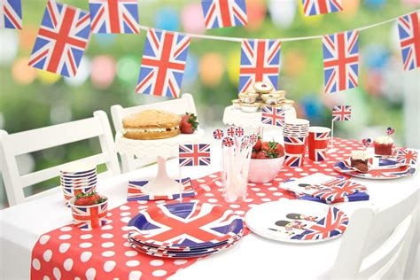 party ideas union jack party ideas party delights blog