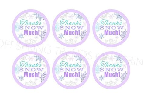 printable frozen favor tags 6 best images of frozen thank you tags printables frozen
