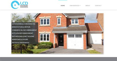 lcd home improvements simon hiscox website design