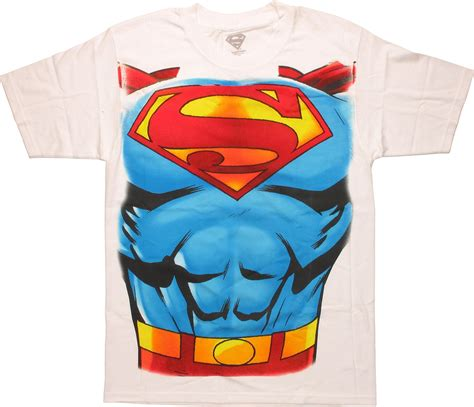 Tshirt Supermen White superman costume white t shirt