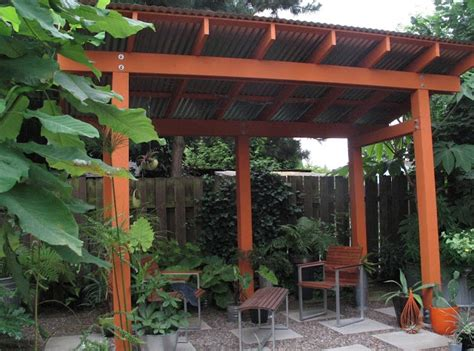 simple pergola for the home inside and out pinterest