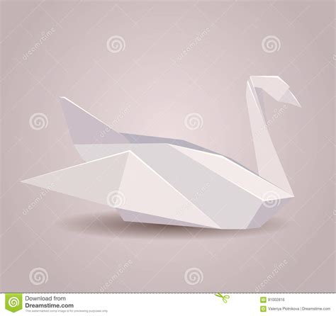 Origami Swan With Wings - origami stunning oragami swan origami swan napkin