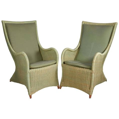 Wicker Back Chairs by High Back Wicker Chairs At 1stdibs