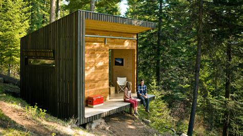 build a cabin for 10000 diy cabin in the woods sunset magazine sunset magazine