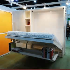 Quality Folding Guest Beds High Quality Folding Bed With Bookshelf And Office Table