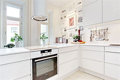 swedish kitchen bright and white swedish kitchen by mood house jelanie