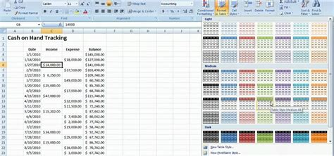 how to a tracking how to track on with a table microsoft excel 2010 171 microsoft office