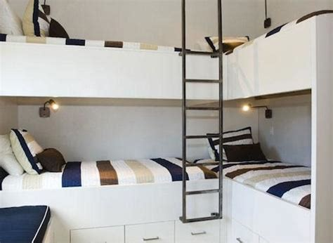 Four Bed Bunk Bed Bunk Beds For Vacation Homes