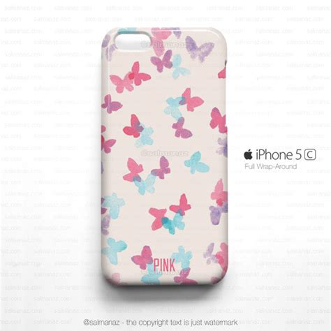 butterfly pink iphone 5c iphone 5 butterfly phone on luulla