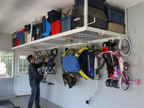 garage hanging storage garage storage hooks and hangers home remodeling ideas for basements home theaters more