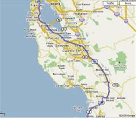 Map Of Pch From La To San Francisco - los angeles to san francisco one day tour along the pacific coast highway