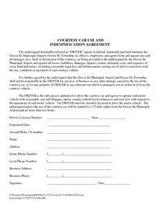 courtesy car agreement template best photos of template of vehicle usage form printable