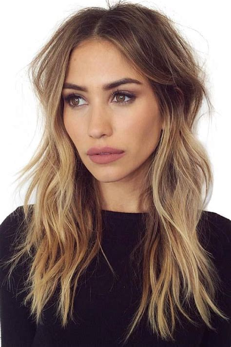 long layered side part hairstyles 25 best ideas about long layered haircuts on pinterest