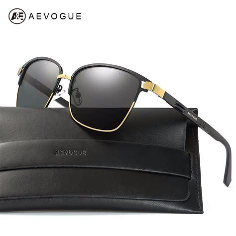 Frame Unisex Fashion 6752 Coklat Box Fashion ᗕaevogue polarized sunglasses for 169 coating lens quality metal frame frame