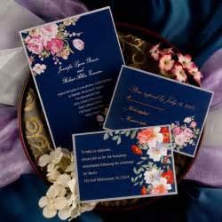 elegant peony navy blue printable vintage wedding