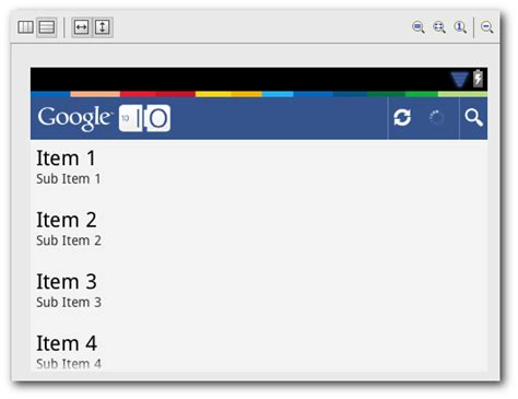 android listview layout listview and gridview rendering android studio project site