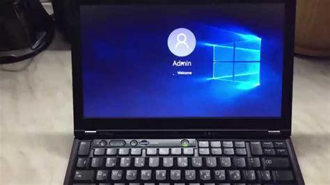 Lenovo Windows 10 время загрузки windows 10 на lenovo thinkpad x220