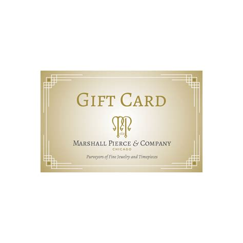 The Card And Gift Company - marshall pierce company gift card marshall pierce company