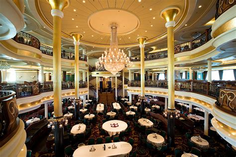 main dining room common cruise ship amenities grow with special events