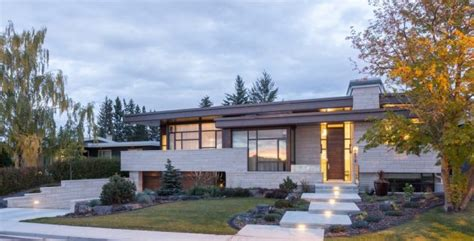gorgeous mid century modern home exterior designs