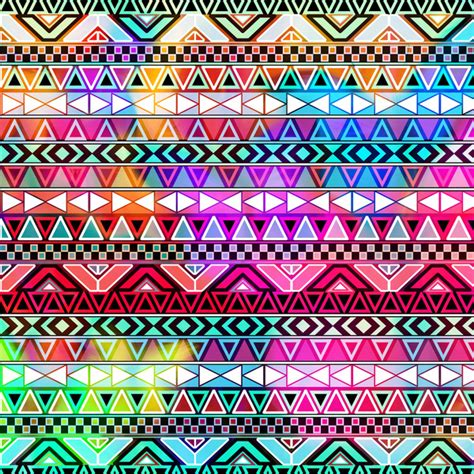 aztec pattern artist neon aztec purple pink neon bright andes abstract