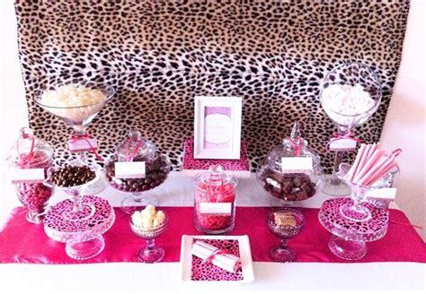 Cheetah Birthday Decorations by Brown Amp Pink Cheetah Print Birthday Party Ideas