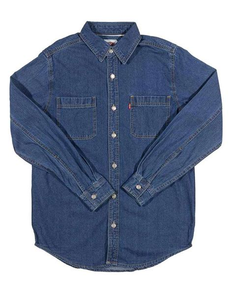 Kaos Levis 501tshirtt Shirt Levis 501 levi s s barry ii classic denim shirt