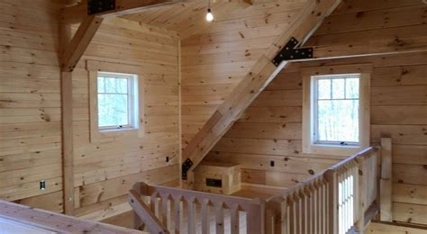 interior wall coverings log home construction