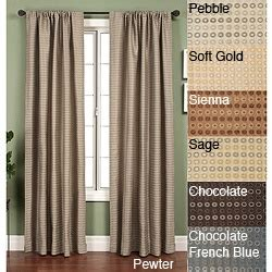 curtains 32 inches long jaipur circle rod pocket 120 inch curtain panel by