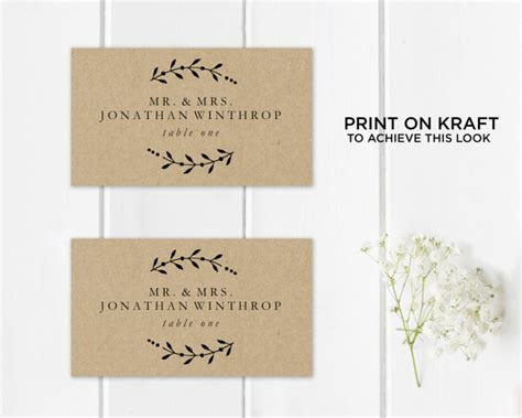 printable seating cards printable place card template wedding place cards seating