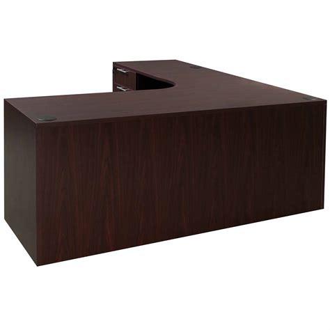 everyday left return laminate corner desk l shape with
