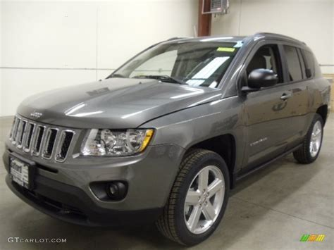 gray jeep 2012 mineral gray metallic jeep compass limited 4x4