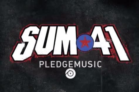 sum 41 launch pledgemusic caign for new album