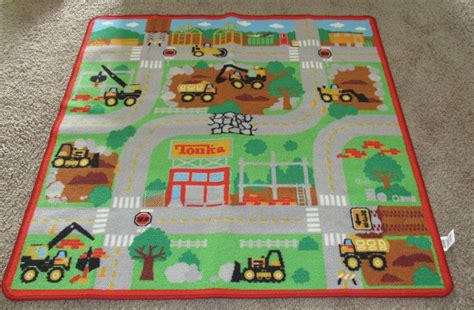 tonka rug tonka play rug boys multi color square 39 5 quot x 39 5 quot rugs